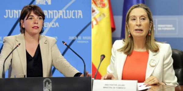 Elena Cortés y Ana Pastor